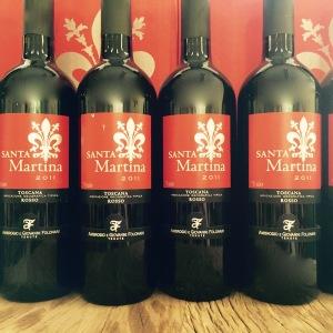 Santa Martina Toscana Sangiovese Vinho Italiano