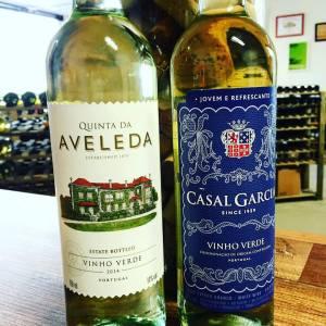 Vinho Verde Quinta da Aveleda e Casal Garcia